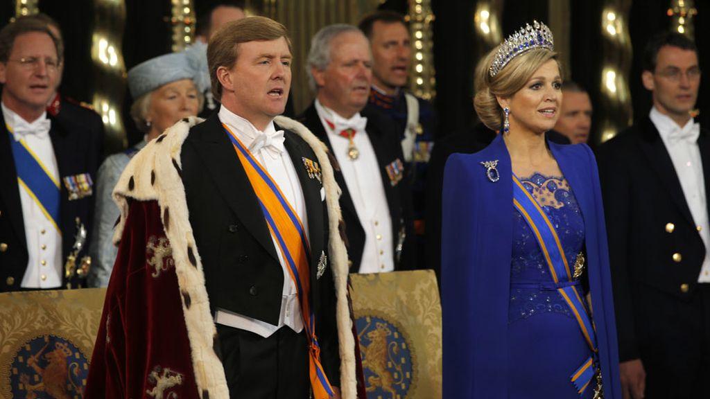 Máxima y Guillermo, nuevos reyes de Holanda