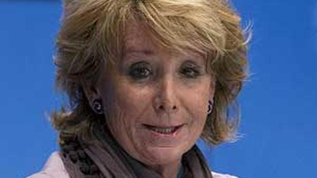Esperanza Aguirre, en una imagen de archivo. Foto: EFE