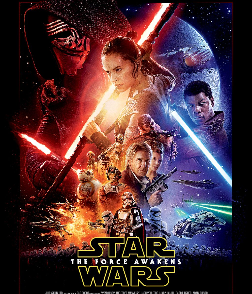 Póster de 'El despertar de la fuerza' de 'Star Wars'