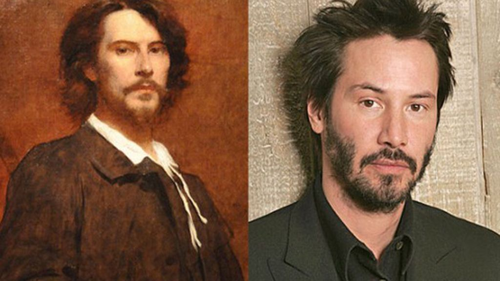 Los actores Paul Mounet y Keanu Reeves