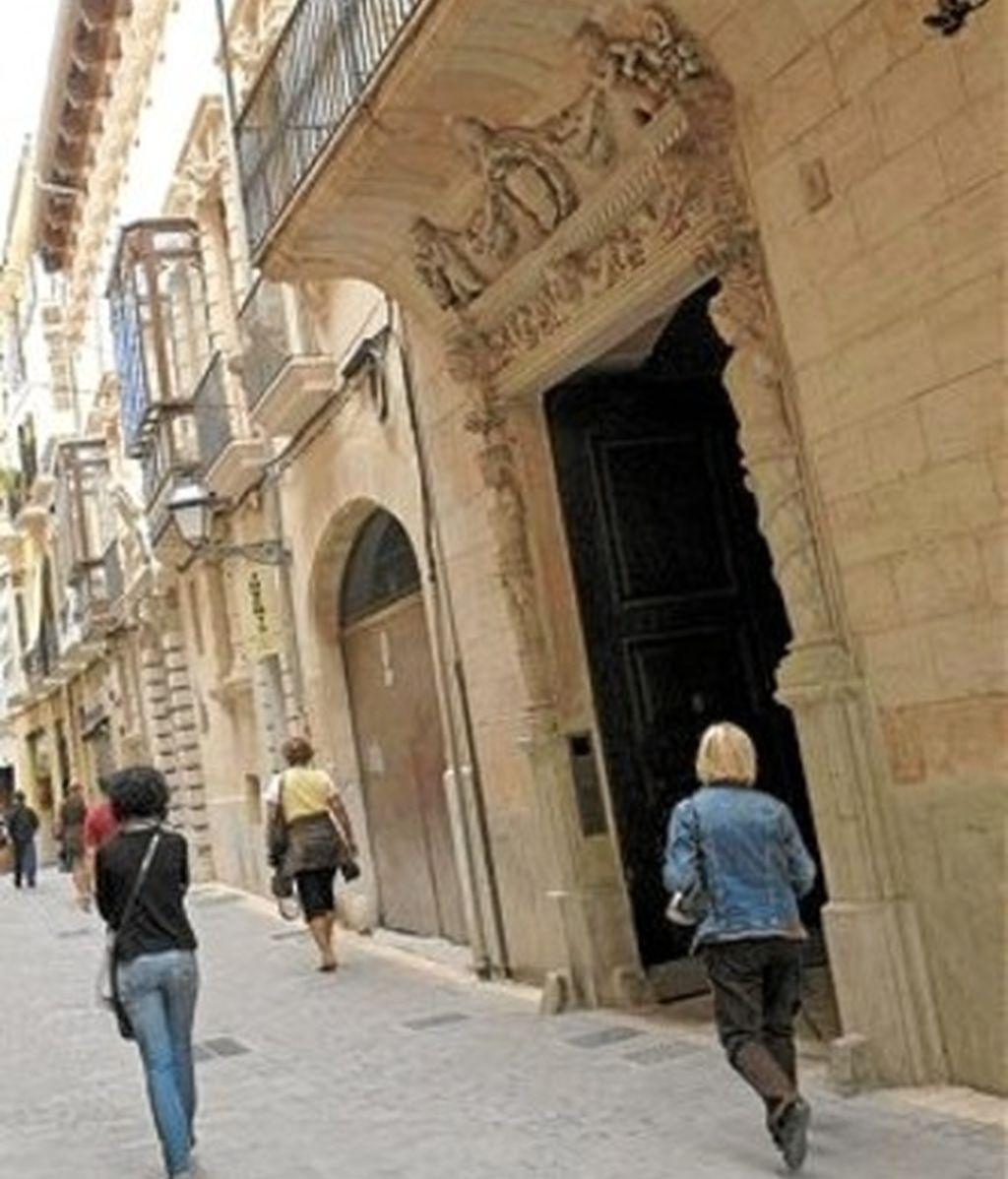 Palacete de Jaume Matas en Palma de Mallorca
