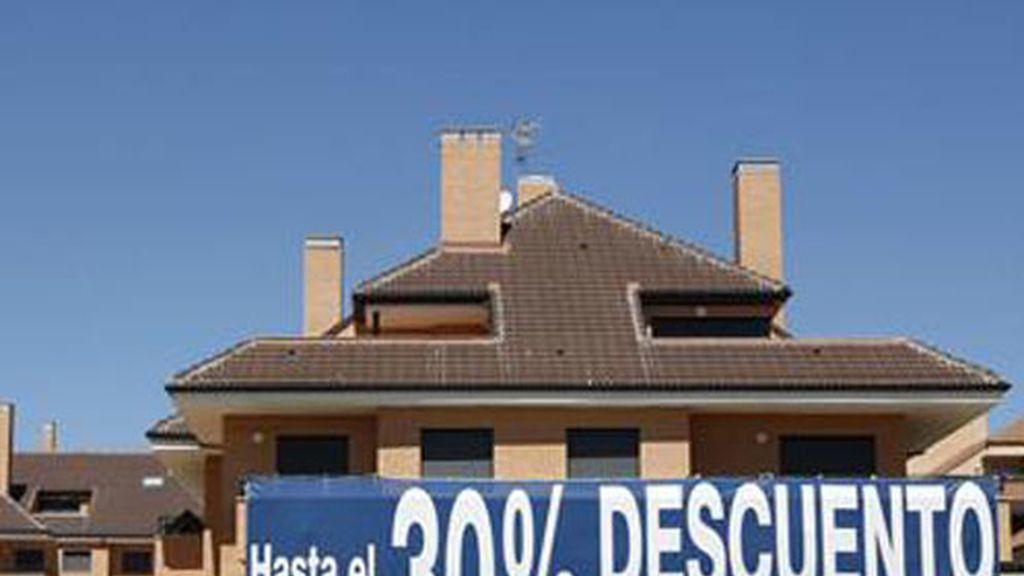 Cae la compraventa de viviendas a niveles de 2009