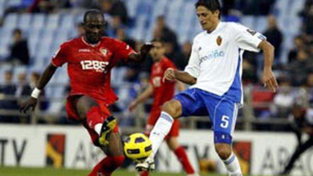 El Sevilla se lleva los puntos de La Romareda