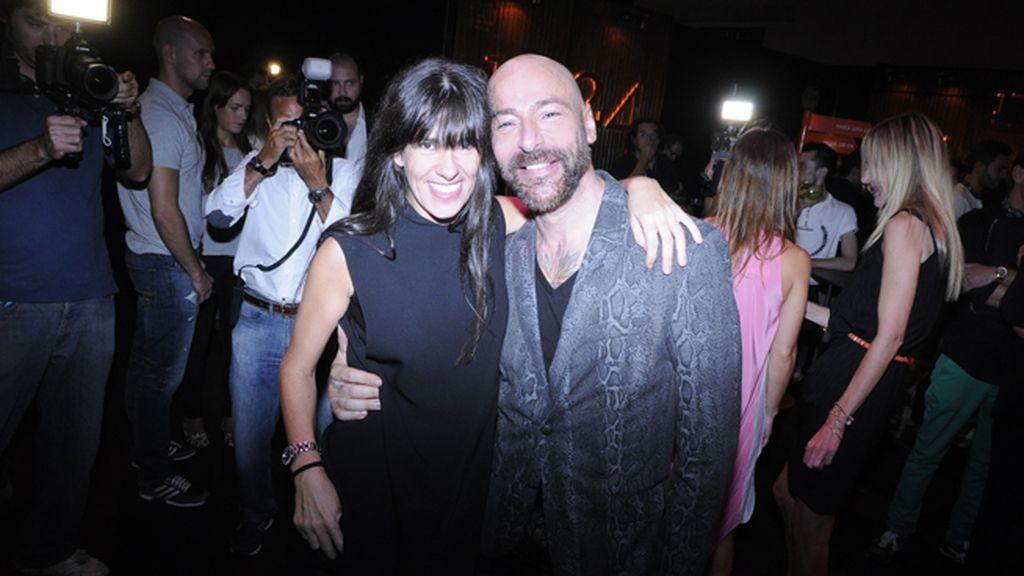Amaya Arzuaga y el fotógrafo Álvaro Villarrubia