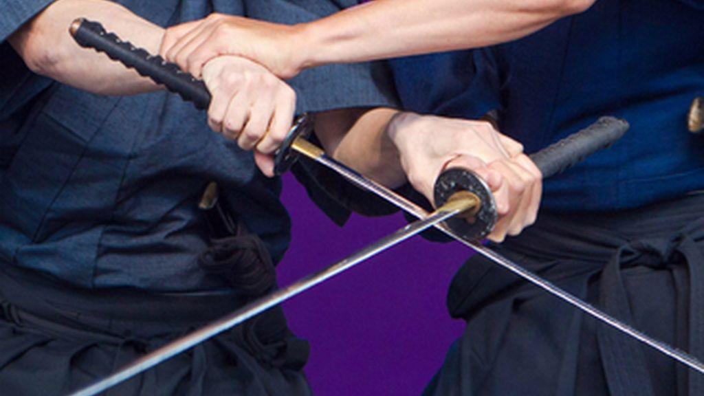 Espadachines samuráis