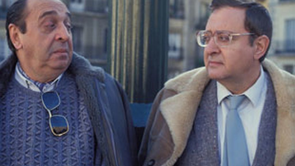 Juanito Navarro y Antonio Ozores en los años 80. Foto: GTres