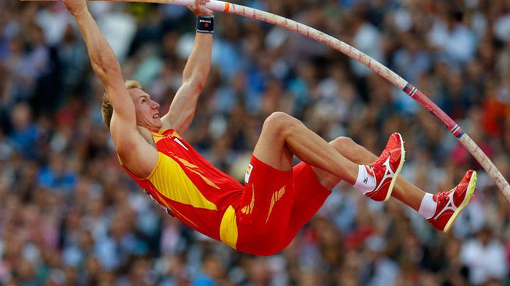 El español Igor Bychkov, eliminado en la final de pértiga
