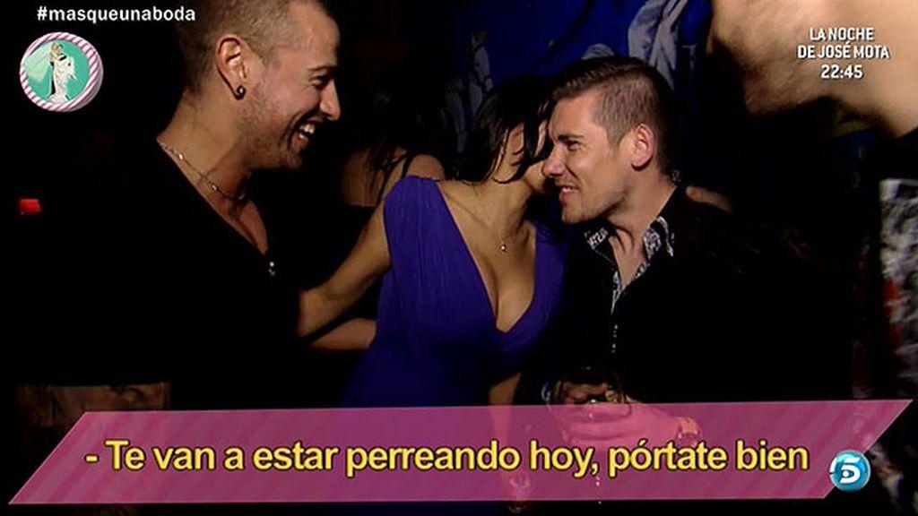 Él se va con Rafa Mora a la discoteca y ella aprende la danza del vientre