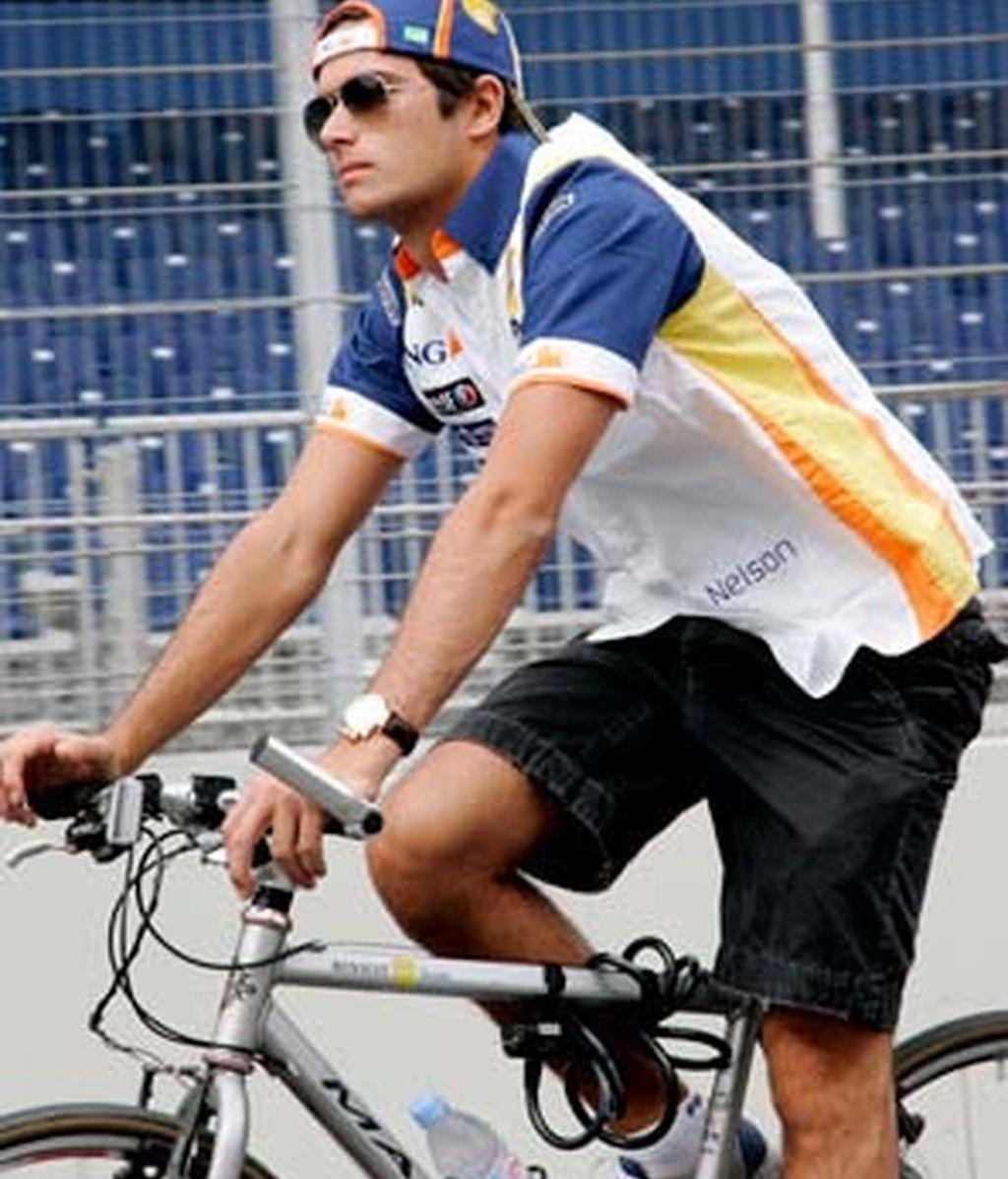 A vueltas con la bicicleta