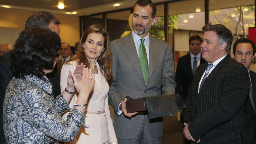 Los príncipes de Asturias visitan Silicon Valley