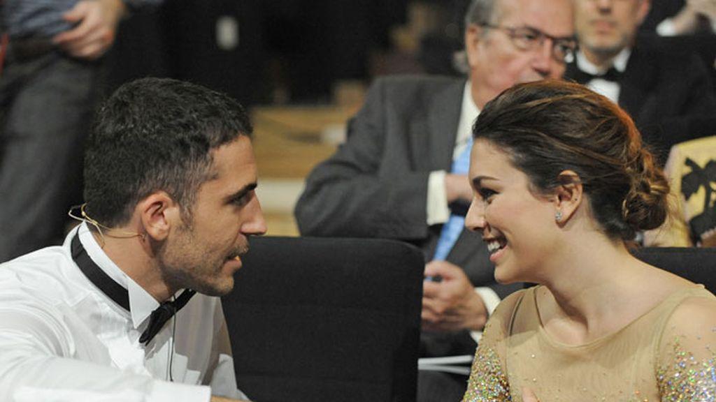 Miguel Ángel Silvestre y Blanca Suárez
