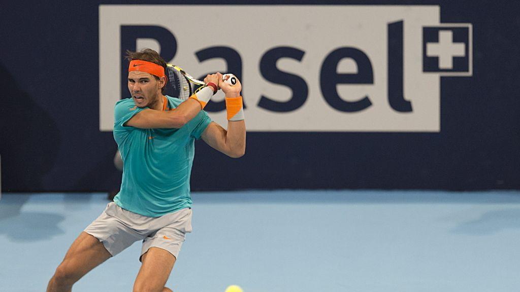 Rafa Nadal se pasea ante un errático Herbert y accede a cuartos en Basilea