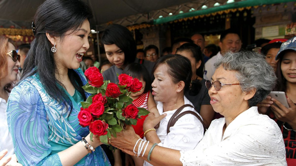 Yingluck Shinawatra, ex primer ministra de Tailandia