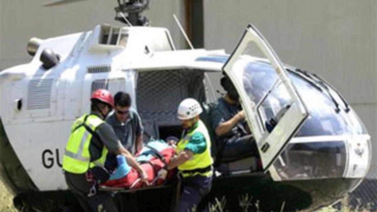 Dos personas han fallecido y otras tres han resultado heridas leves al sufrir un accidente en el Valle de Pineta, en el Pirineo oscense, según han informado a Efe fuentes de la Delegación del Gobierno en Aragón. EFE/Archivo