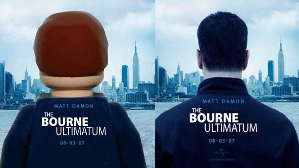 Versión Lego de 'El Ultimátum de Bourne'