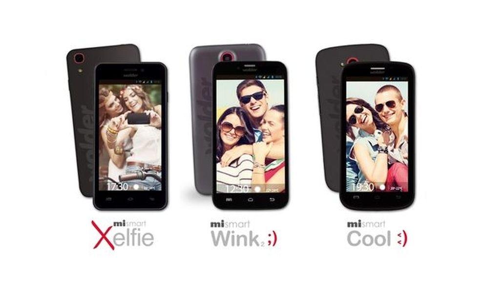 Wolder,smartphones,Xelfie,Wink2,Cool