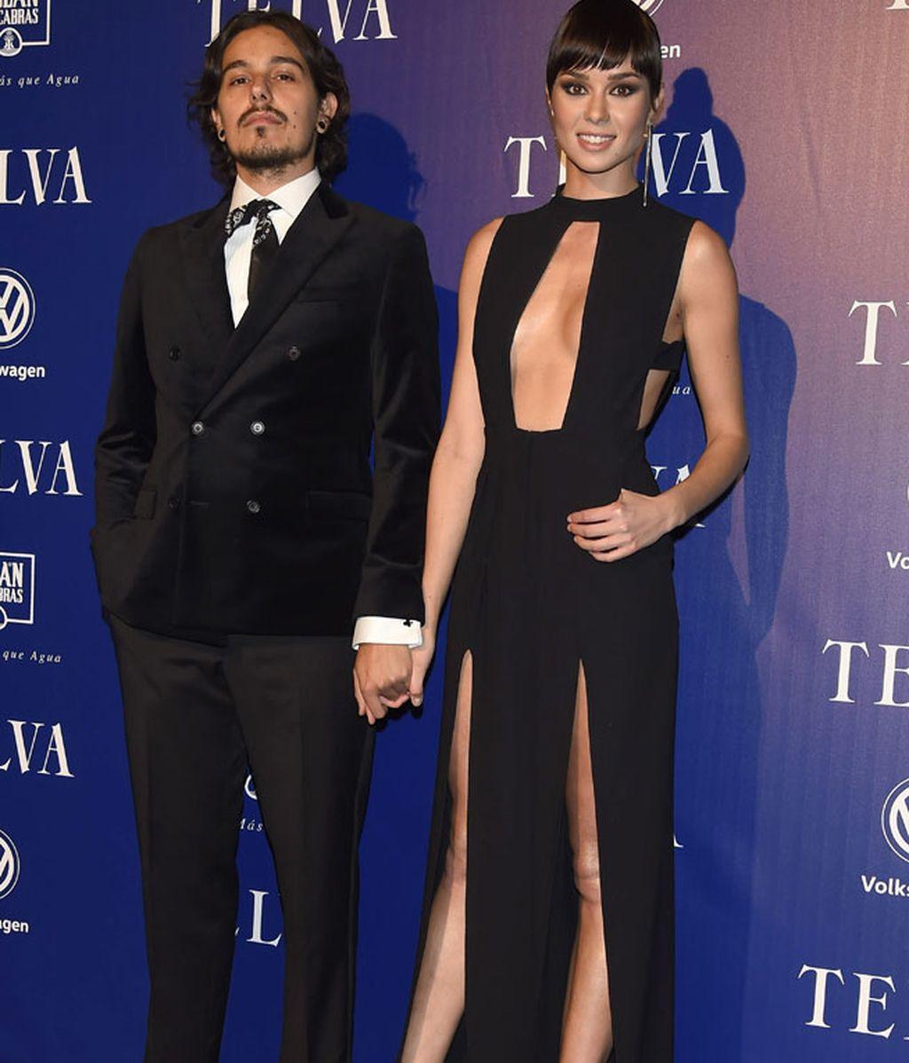 Dafne Fernández y su novio, Mario Chavarría