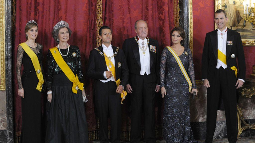 Cena de gala en el Palacio Real de Madrid en honor a Enrique Peña Nieto