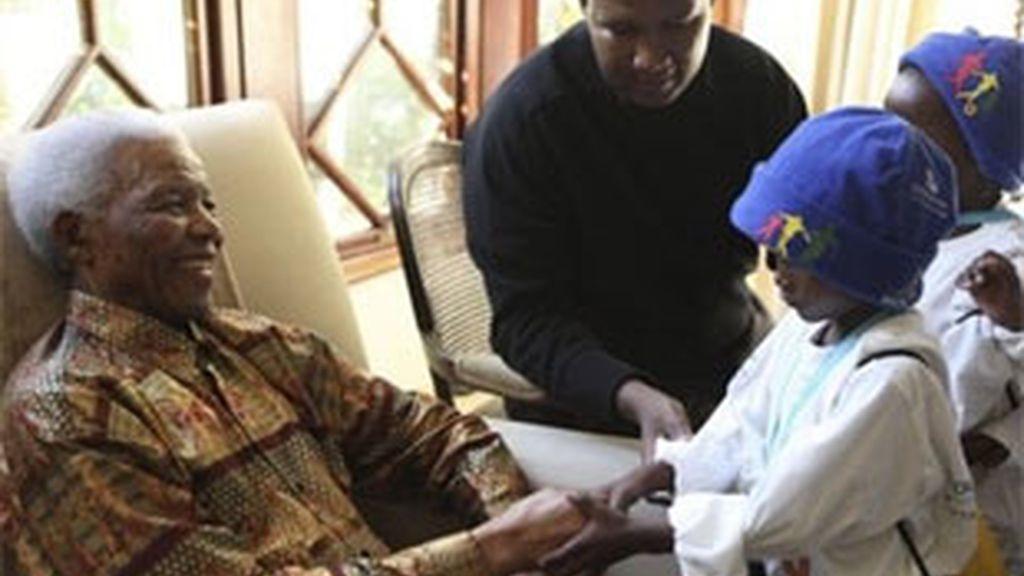 El mundo celebra el Día de Nelson Mandela. Foto: AP.