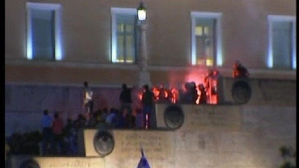 Graves disturbios en Grecia