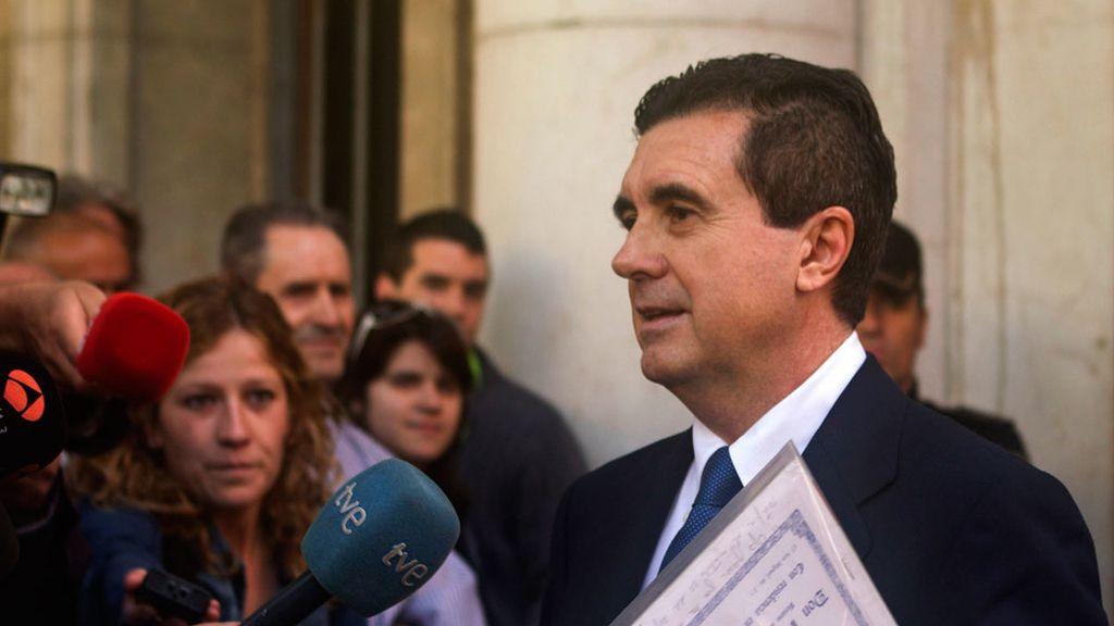 Jaume Matas abandona los juzgados sin declarar