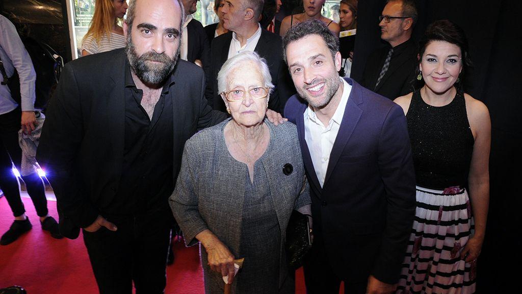 Luis Tosar, Antonia Guzmán y Daniel Guzmán, los grandes protagonistas de la noche