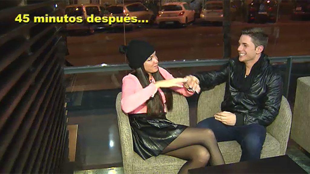 """Adrián, tras la cita con Samira: """"Me siento frustrado"""""""