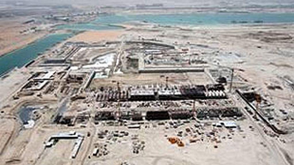 Imagen de las obras del circuito en Abu Dabi. Foto: abudhabigp.com