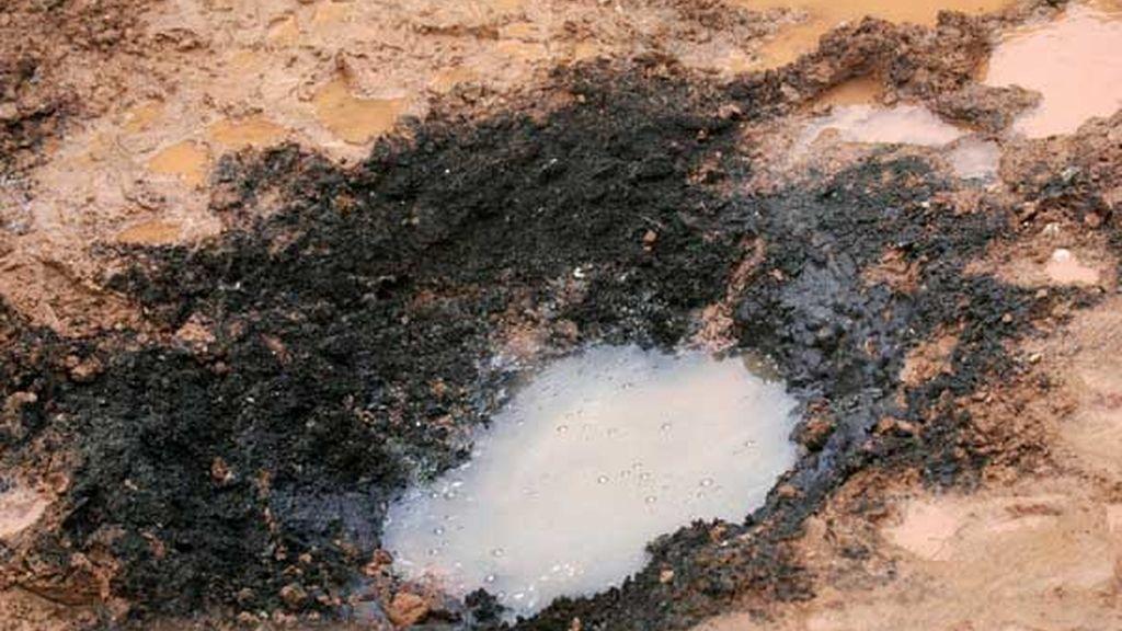 Imágenes del fraude del meteorito de Letonia