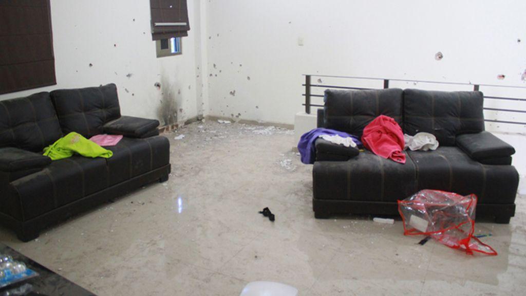 Así era el refugio donde se escondía el Chapo
