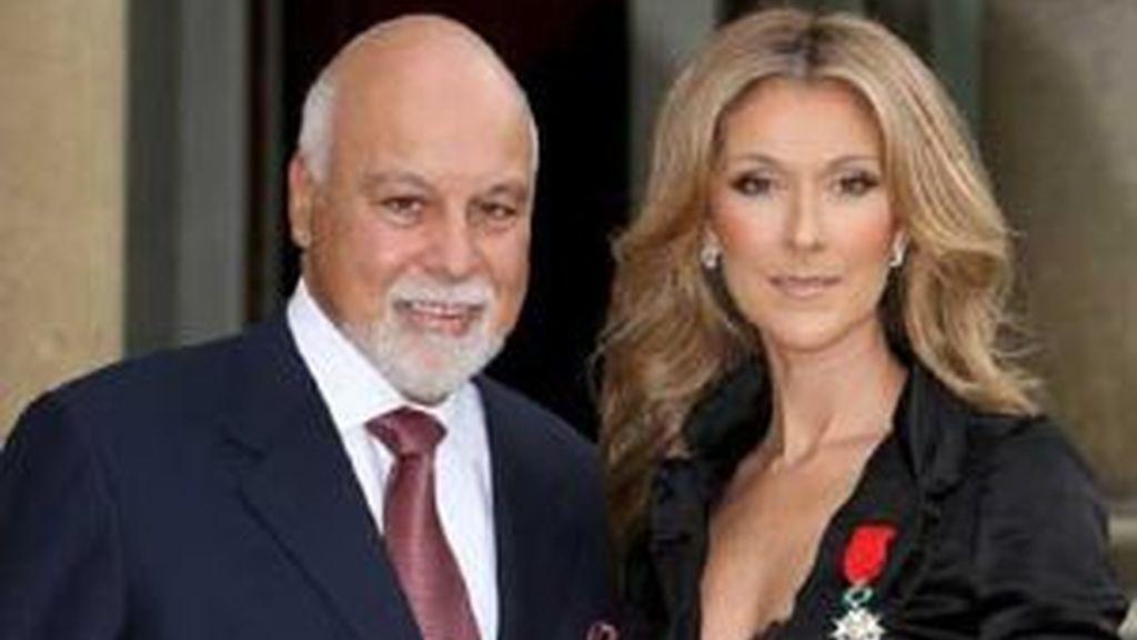 Céline Dion y su esposo René. Foto: EFE