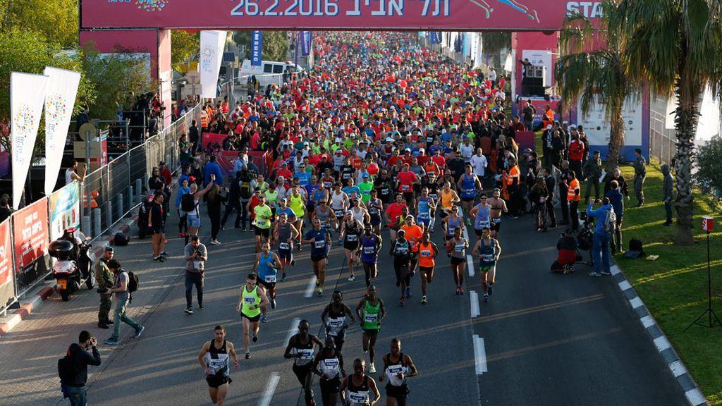 Tel Aviv celebra su 21ª maratón con más de 2.500 participantes (26/02/2016)