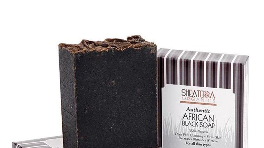 El jabón negro también llamado anago o alatasamina