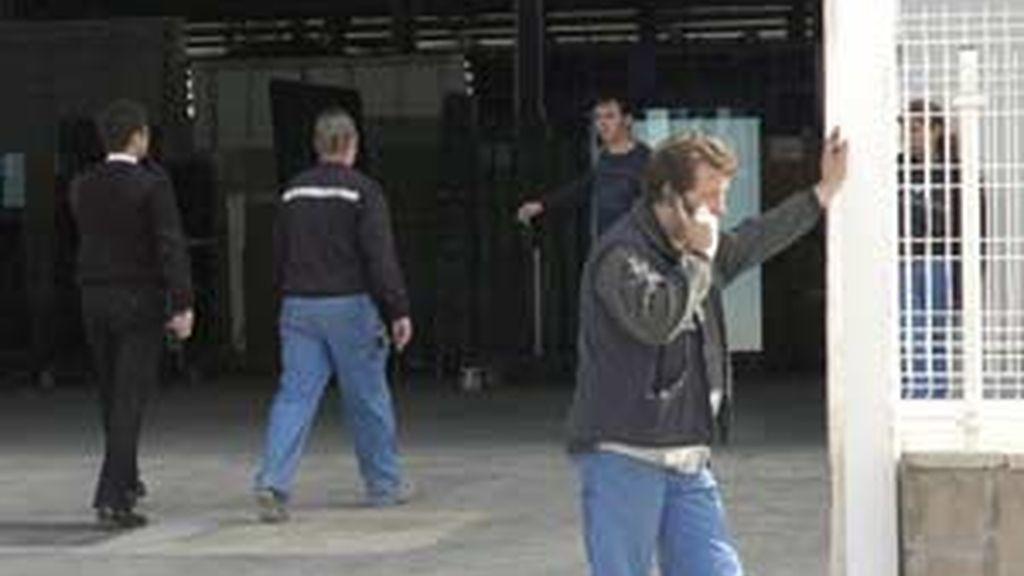 El accidente ha tenido lugar en la Unión Vidriera Aragonesa. Foto: EFE