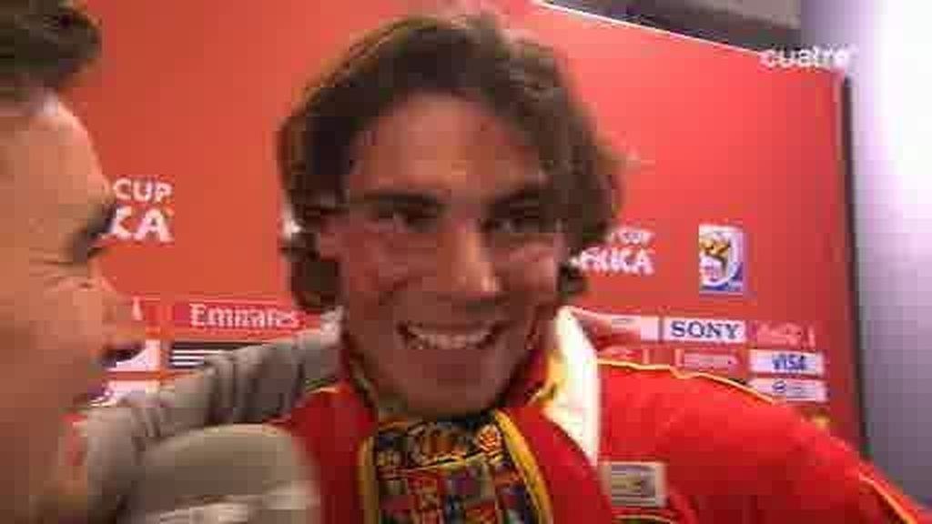 Rafa Nadal, ¡de campeón a campeones...!
