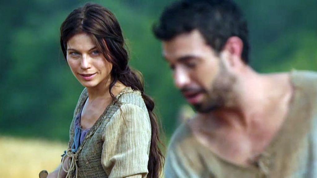 Gwenda y Wulfric, pasión en el campo