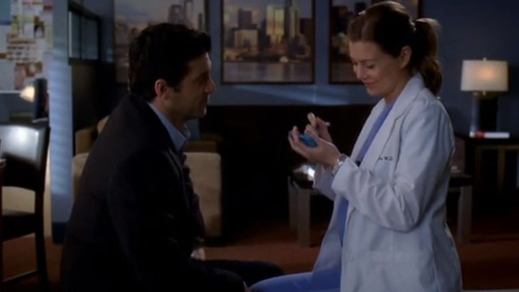 La boda de Meredith y Derek, a solas con un post it