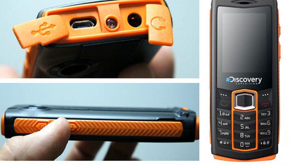 Aparenta ser un móvil normal y sin embargo, será sumergible, antichoque y resistente al polvo.