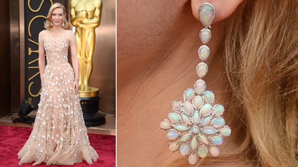 La ganadora al Oscar, Cate Blanchett, llevó joyas de Chopard