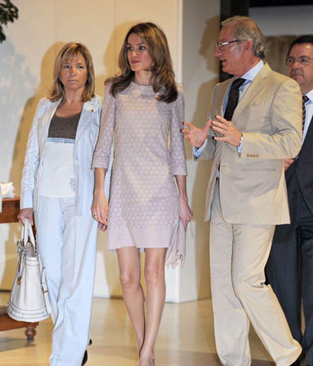 Doña Letizia visita Mango