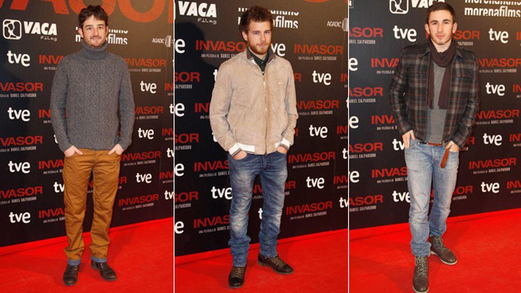 La nueva generación del cine español: Gorka Otxoa, Álvaro Cervantes y David Castillo