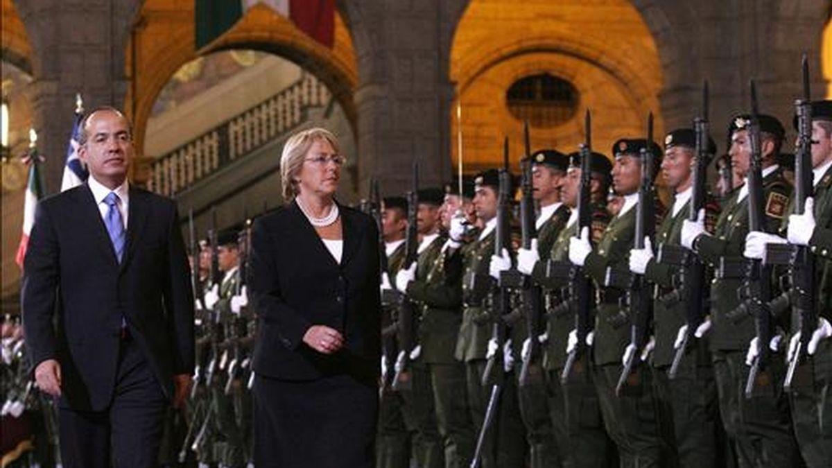 La visita de la mandataria chilena a México está prevista para el próximo 25 de junio en el marco de su gira por América del Norte. EFE/Archivo