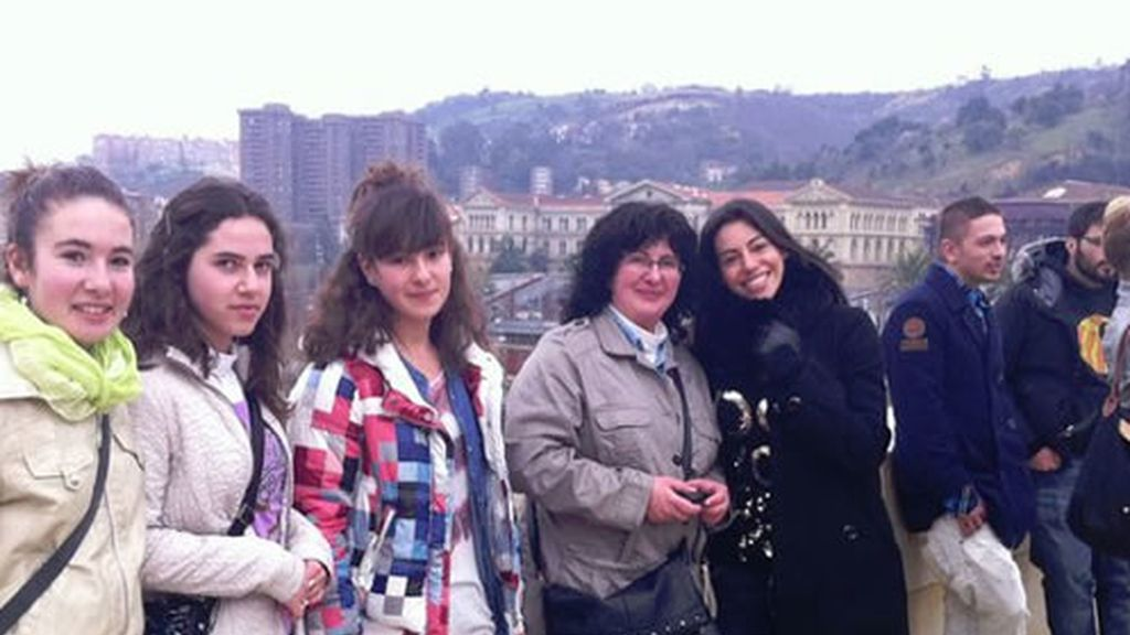 Marbelys con sus fans de Bilbao