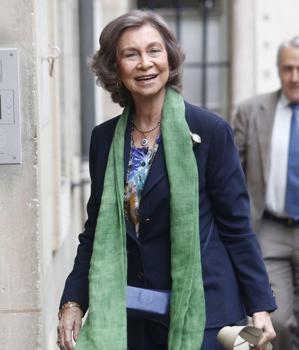 La reina Sofía visita a la infanta Cristina en su casa de Ginebra