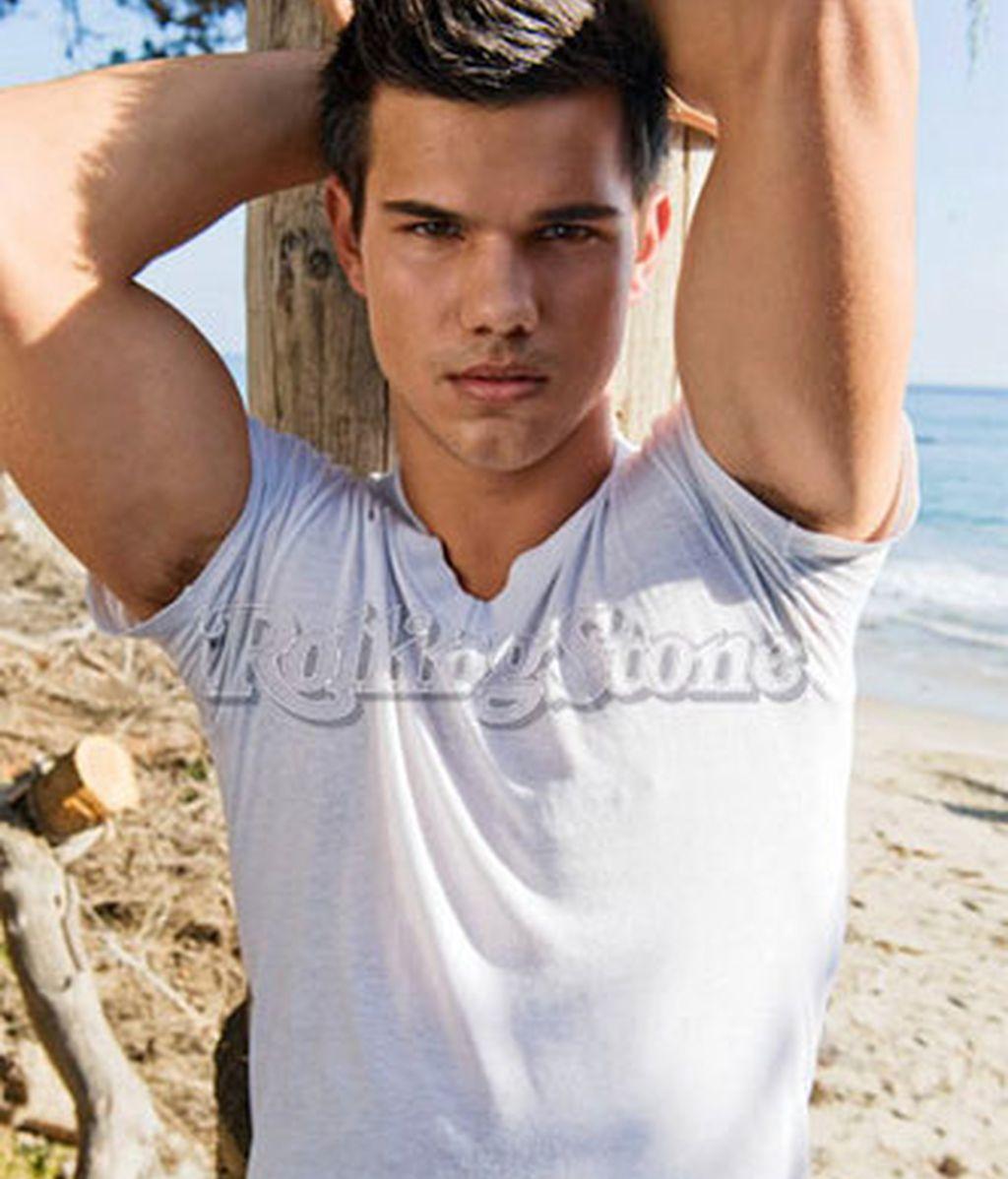 Taylor Lautner, de portada