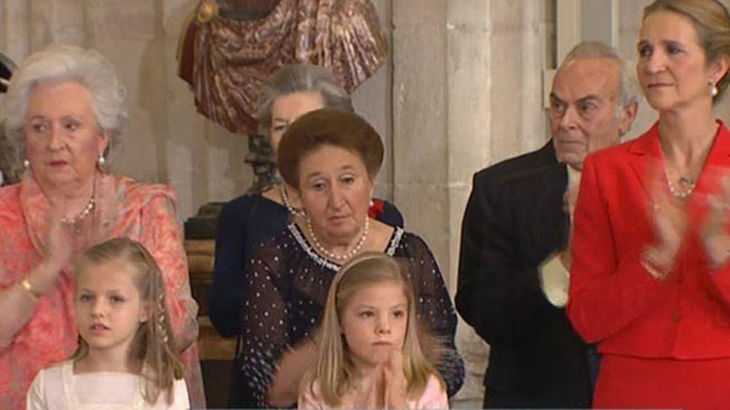 Día histórico en la Casa Real