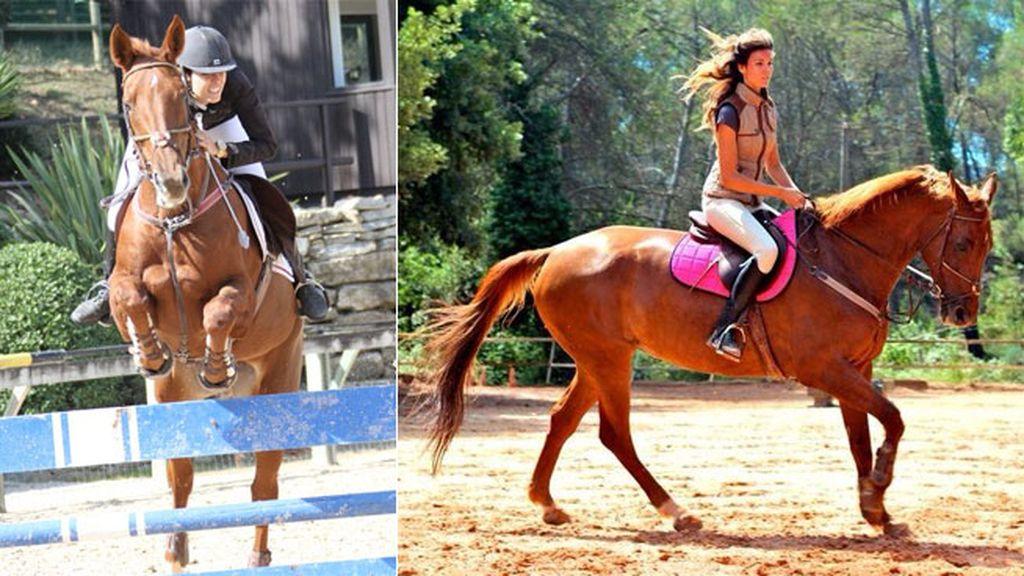 Su pasión por la equitación podría haberle unido más al jinete