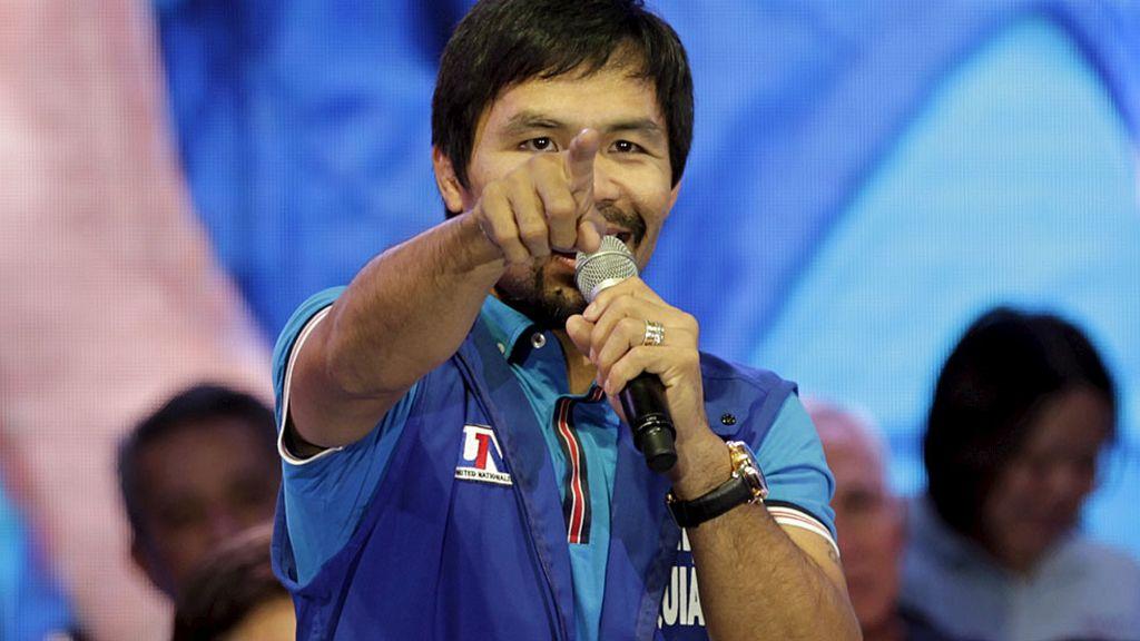Pacquiao, el aspirante a senador (09/02/2016)