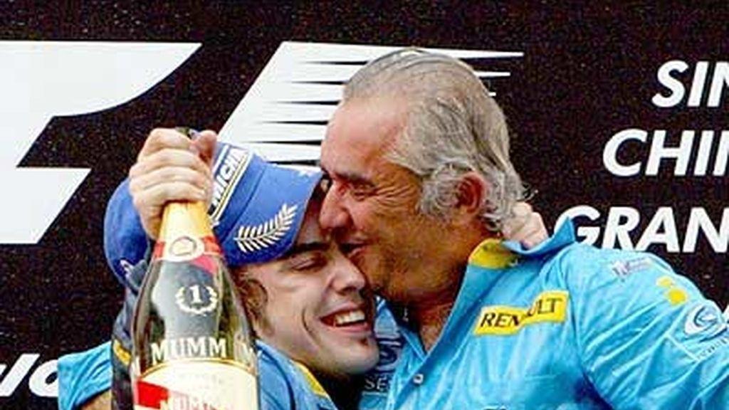 Imágenes de las victorias de Alonso