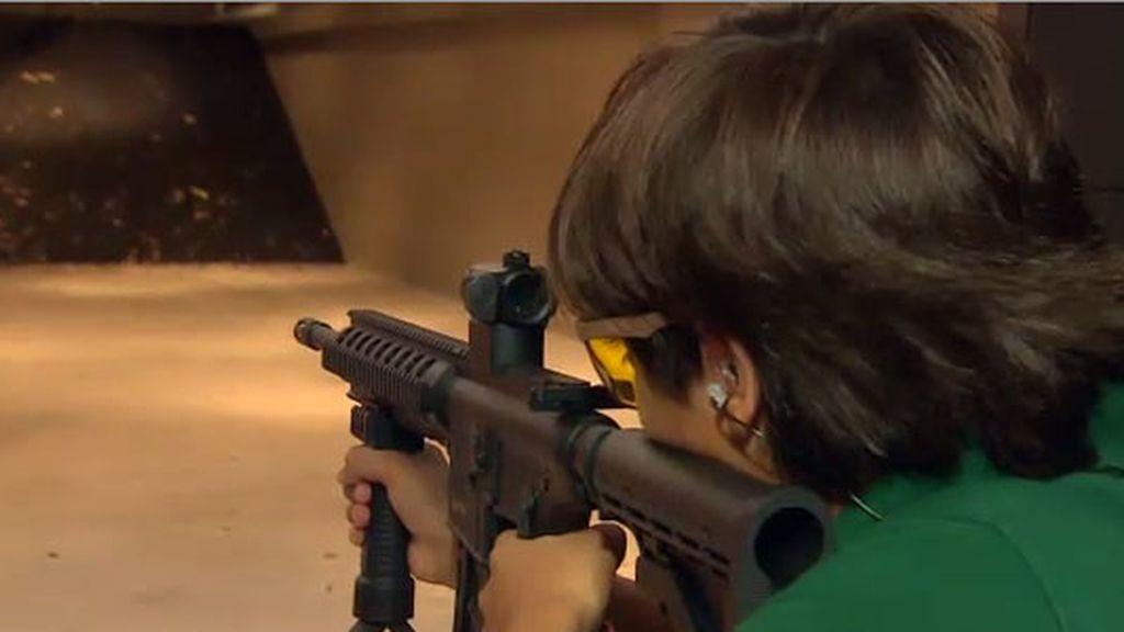 campo de tiro,niños, armas, EEUU